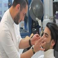 پاکسازی پوست صورت آموزشگاه آرایشگری